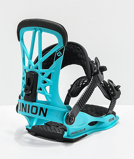 Union Flite Pro Blue Snowboard Bindings 2020