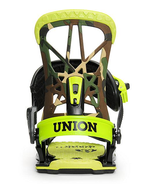 Union Flite Pro Camo Snowboard Bindings