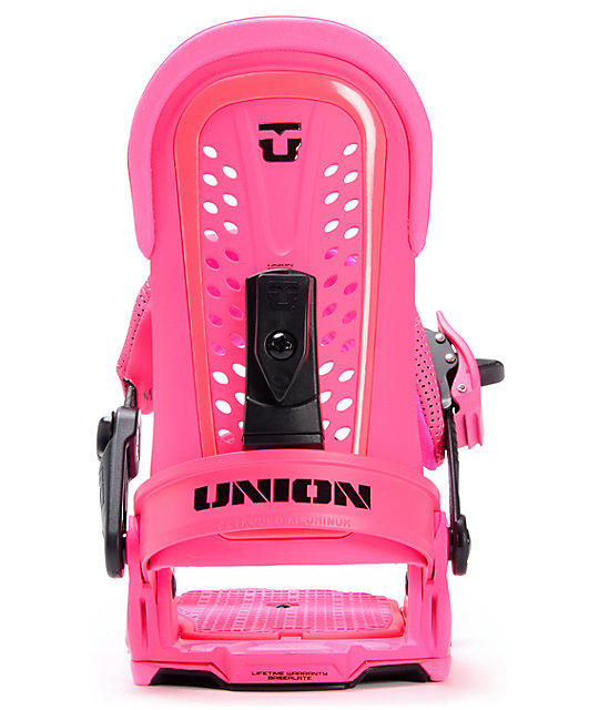 Union Force Magenta Snowboard Bindings