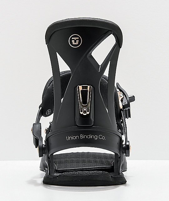 Union Juliet Black Snowboard Bindings Women's 2020