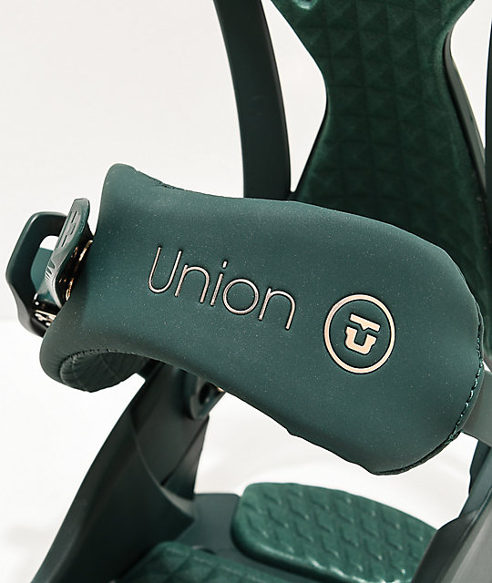 Union Juliet Green Snowboard Bindings Women's 2020