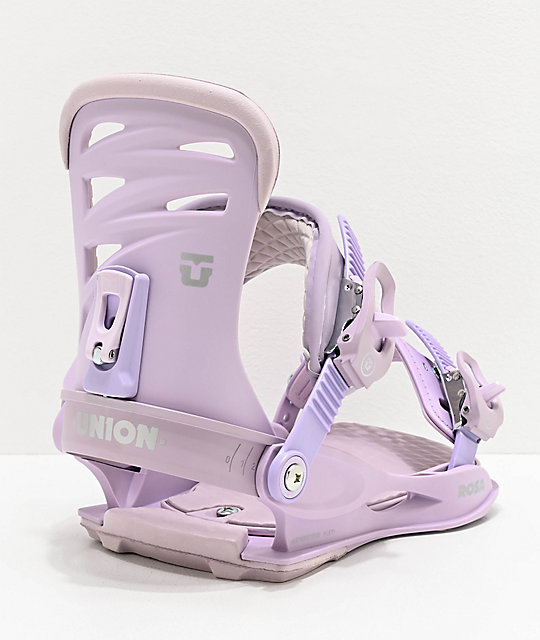 Union Rosa Lavender Snowboard Bindings Women's 2020