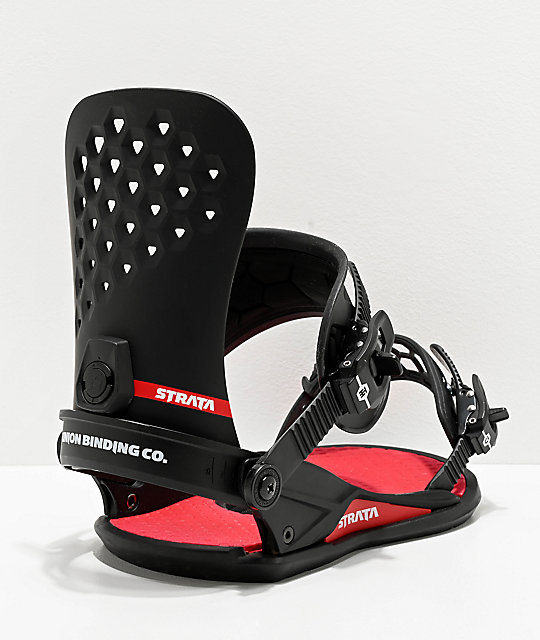 Union Strata Black Snowboard Bindings 2020 | Zumiez
