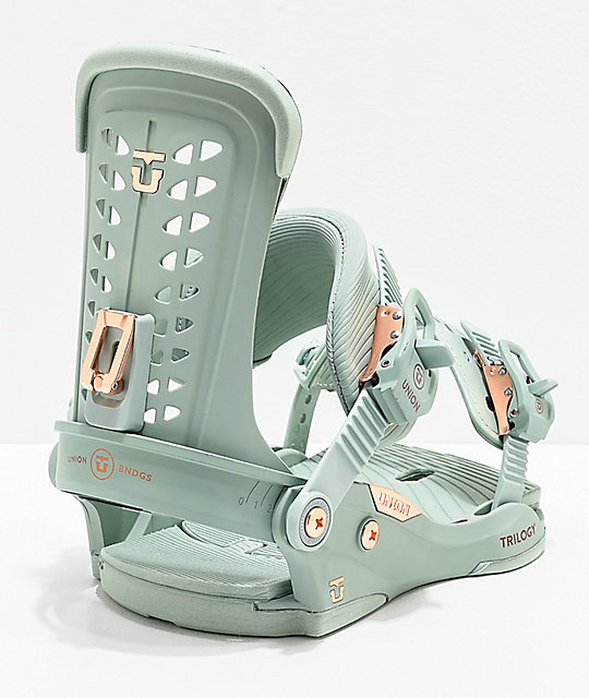 Union Trilogy Mint Snowboard Bindings Women's 2020