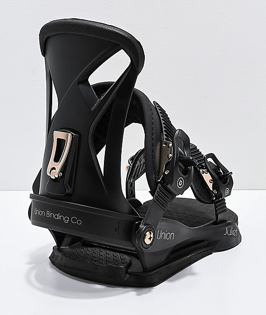 Union Women's Black Juliet Snowboard Bindings 2019
