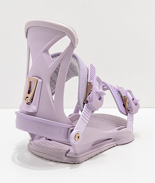 Union Women's Lavender Juliet Snowboard Bindings 2019