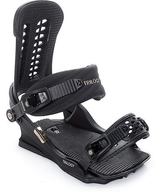 Union Womens Trilogy Black Snowboard Bindings