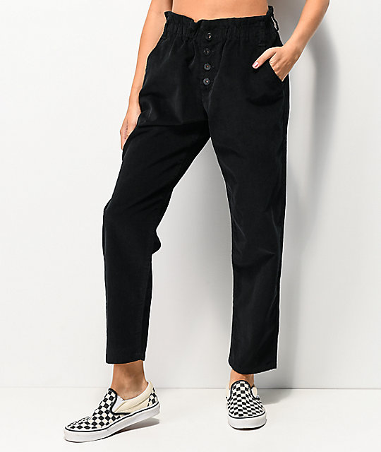 Unionbay High Rise Black Corduroy Pants