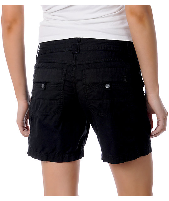 Unionbay Logan Black Convertible Shorts