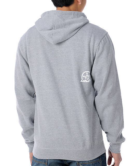 Unit Dirty Weekend Grey Pullover Hoodie