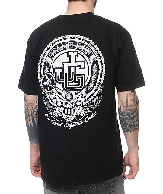 Unit Grant Black T-Shirt