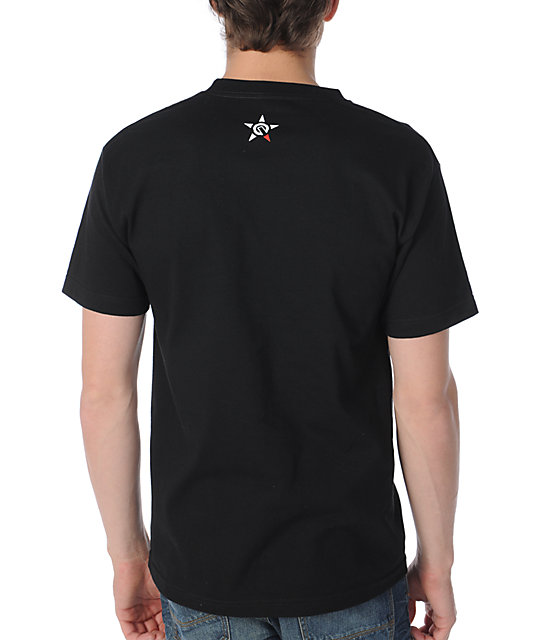 Unit Trails Black T-Shirt