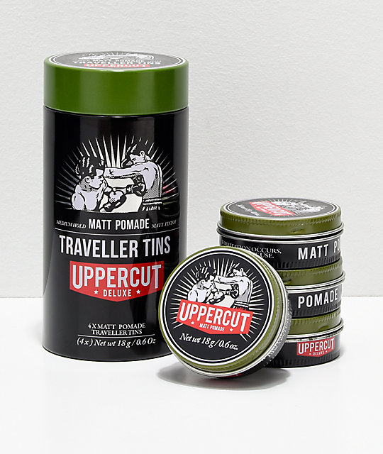 Uppercut Matte Pomade Travel Tin
