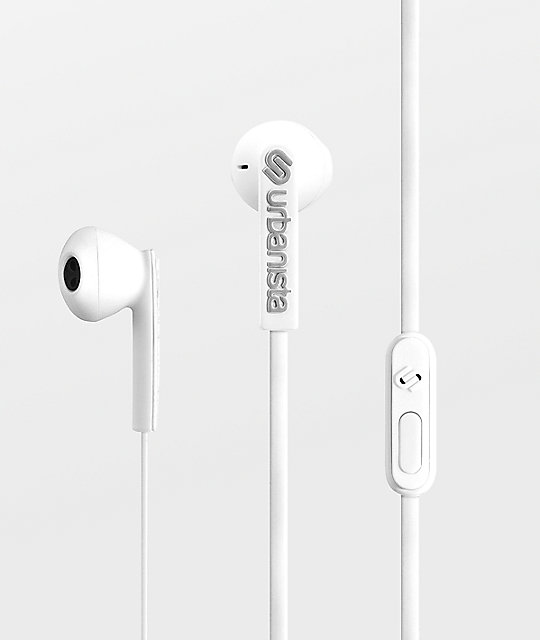 Urbanista San Francisco Fluffy Cloud White Headphones