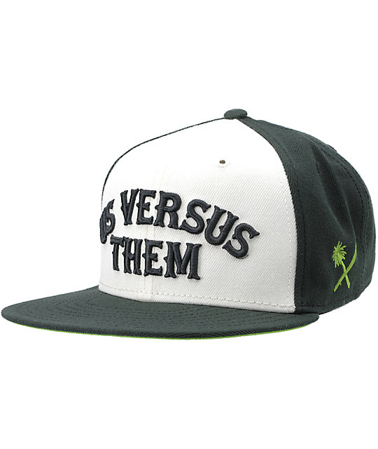 Us Vs Them Nomad Black Snapback Hat