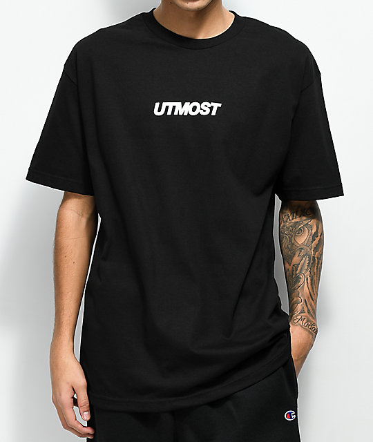 d98d7f8c127 Utmost Co. Solid Logo Black T-Shirt