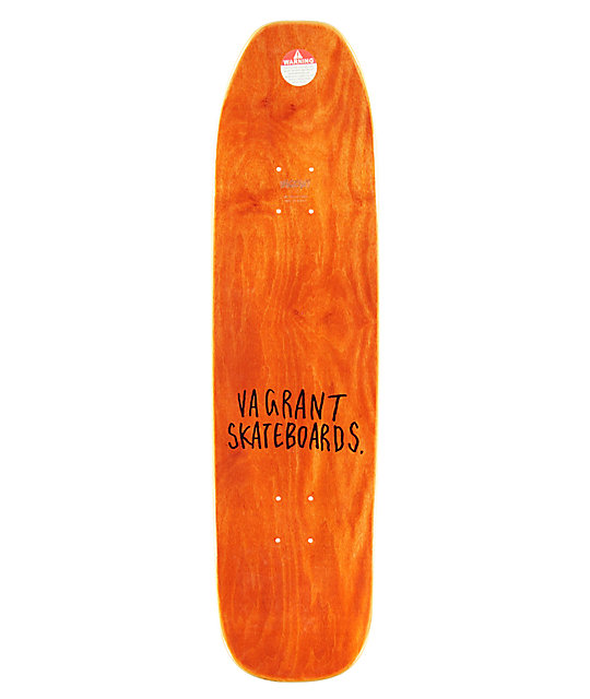 "Vagrant x Hirotton Not Friends 2 8.38"" Skateboard Deck"