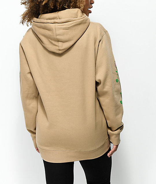 Valley High Barbed Wire Tan Hoodie
