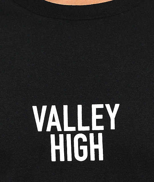Valley High camiseta negra