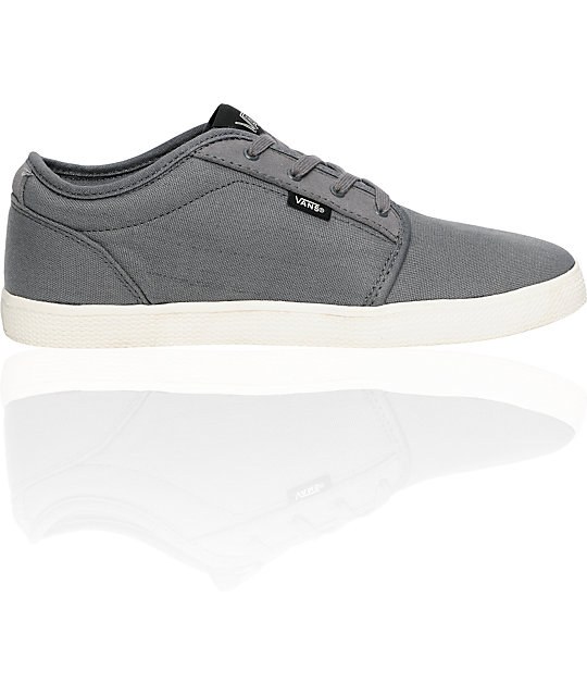 Vans 106 SF Grey & Antique White Skate Shoes
