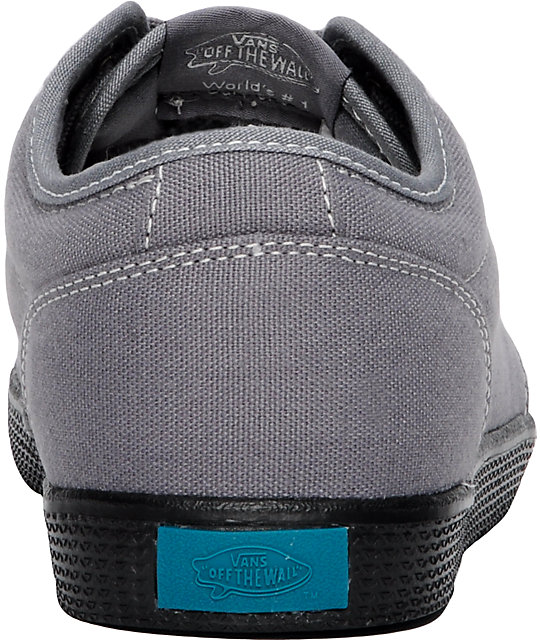 Vans 106 SF Grey & Black Skate Shoes