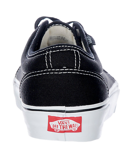 vans vulcanised 106 black