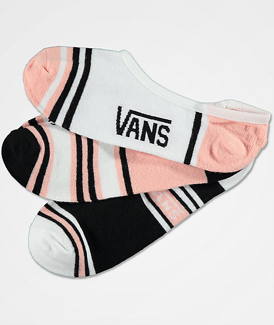 Vans 3 Pack Double Play Canoodle calcetines invisibles