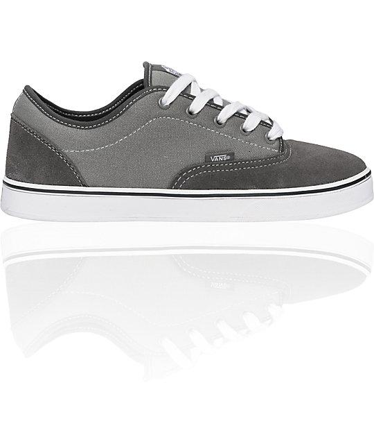 Vans AV Era 1.5 Charcoal   Grey Skate Shoes  698857c25