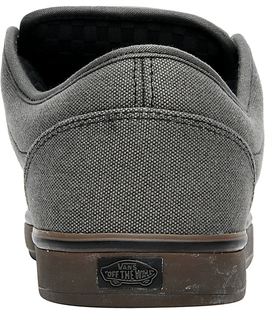 Vans AV Era 1.5 Charcoal & Gum Canvas Skate Shoes