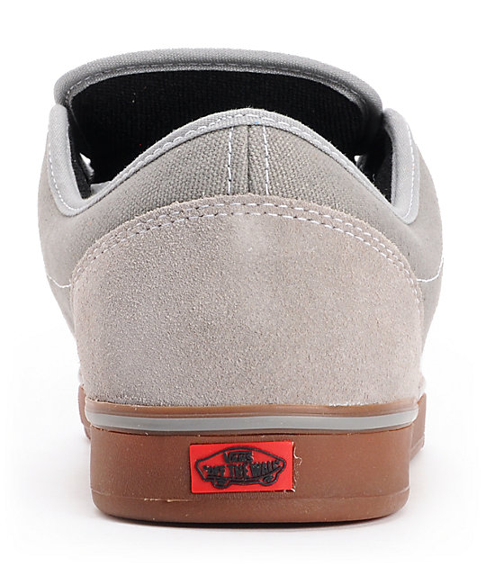 Vans AV Era 1.5 Mid Grey & Gum Skate Shoes