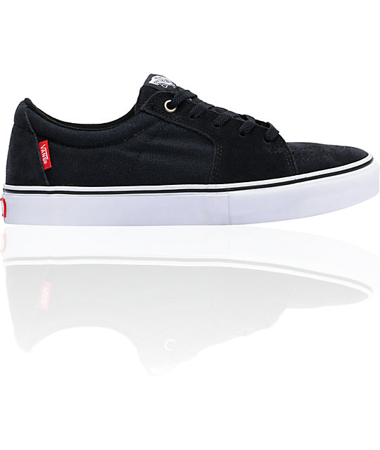 Vans AV Sk8 Low Navy Suede & Canvas Skate Shoes