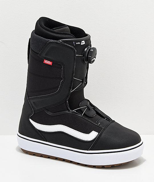 c73990df34 Vans Aura OG Black   White Snowboard Boots 2019