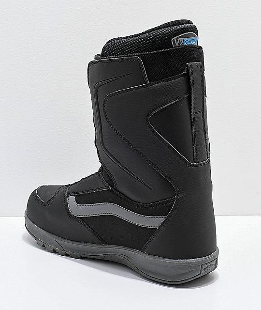 0d06436e10efb4 ... Vans Aura Pro Black Snowboard Boots 2019 ...