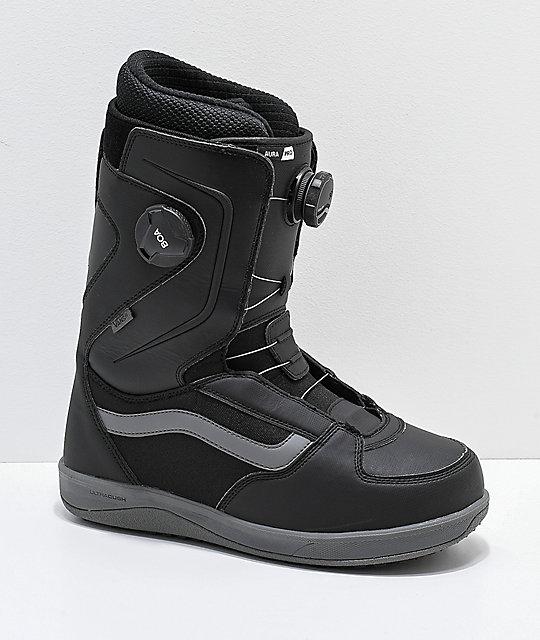 2afb3f9651 Vans Aura Pro Black Snowboard Boots 2019