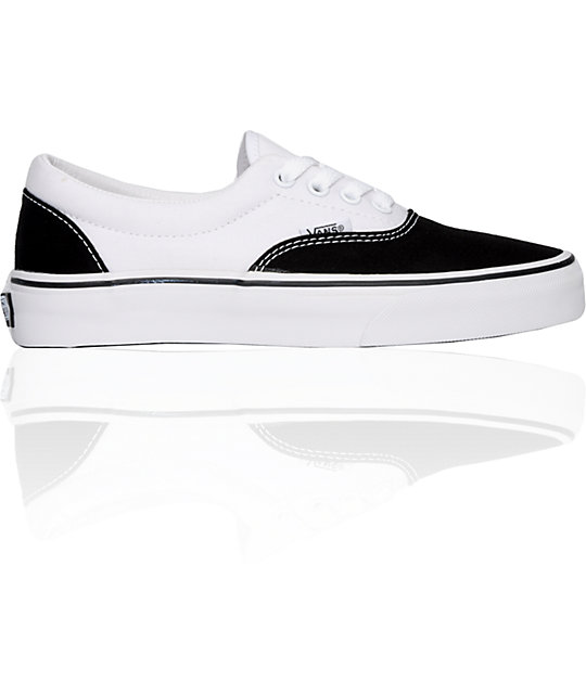 827dbbc4d9fed2 Vans Authentic Black   White Skate Shoes (Women)