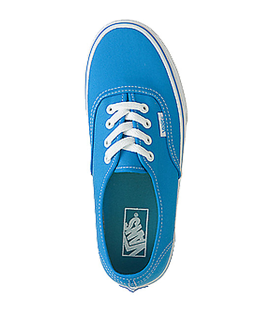 Vans Authentic Blue Skate Shoes