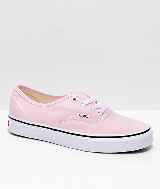 Vans Authentic Chalk Pink & True White Shoes