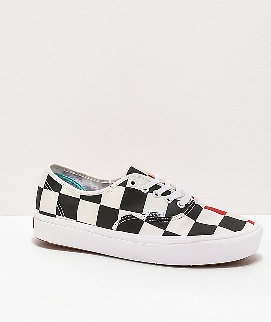 vans authentic comfycush