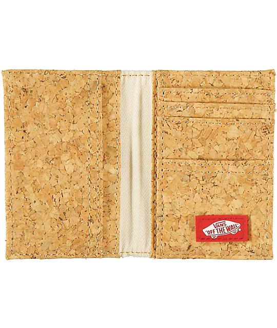 Vans Authentic Cork Bifold Wallet