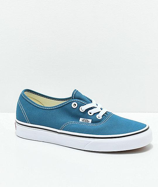 e83a1d6b27f Vans Authentic Corsair   True White Skate Shoes