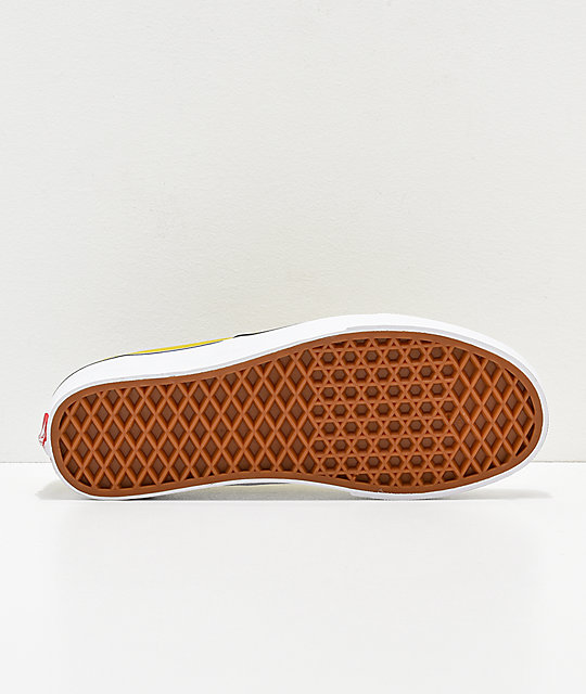 8b54fd6baf de verde skate Authentic en y blanco Vans Cress zapatos xRtwf4