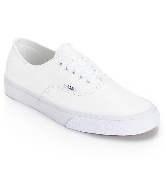 zapatillas vans cuero hombres