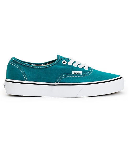 Vans Authentic Deep Lake Teal Shoes