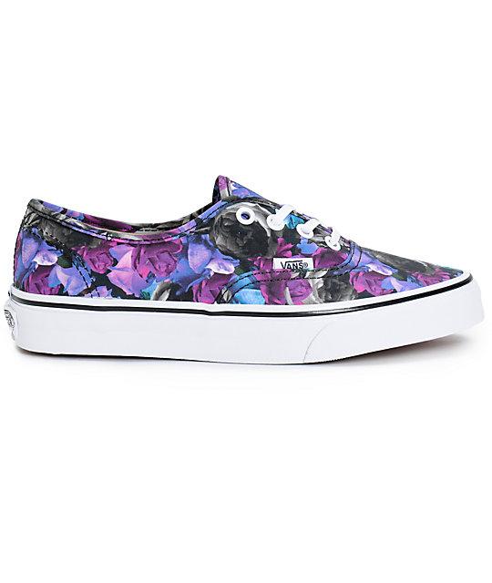 6b893104638f ... Vans Authentic Digi Floral Shoes