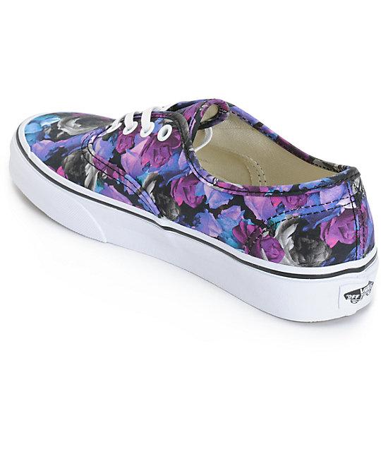 4b0fec88675f ... Vans Authentic Digi Floral Shoes ...
