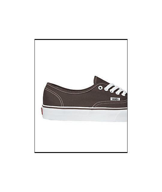 465d2a9c09 Vans Authentic Espresso Skate Shoes  Vans Authentic Espresso Skate Shoes ...