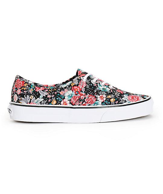9d47315071 ... Vans Authentic Floral Print Shoes
