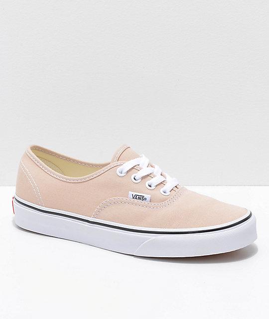 c557c65268863e Vans Authentic Frappe   True White Skate Shoes