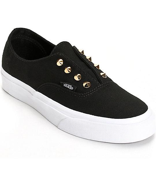 a6c56f60ef627 Vans Authentic Gore Stud Slip-On Shoes (Womens)