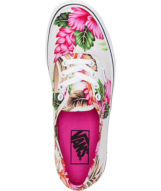 a2783907cd5 ... Vans Authentic Hawaiian Floral Shoes ...